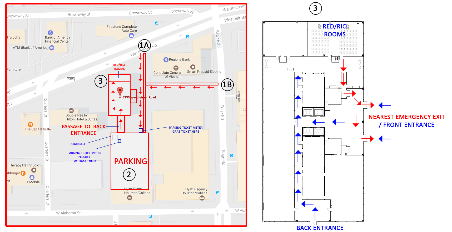 SPE GCS Data Analytics Event 1 - IHS Markit Venue/Parking Directions