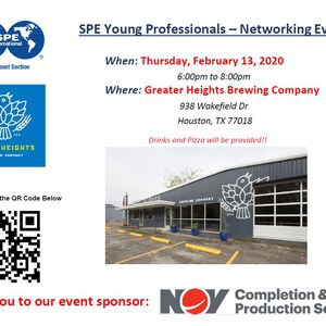 SPE GCS YP February Networking Happy Hour