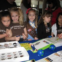 Girl Scout Day with the Society of Women Engineers